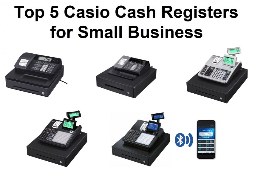 Top 5 Best Casio Cash Registers for Small Business