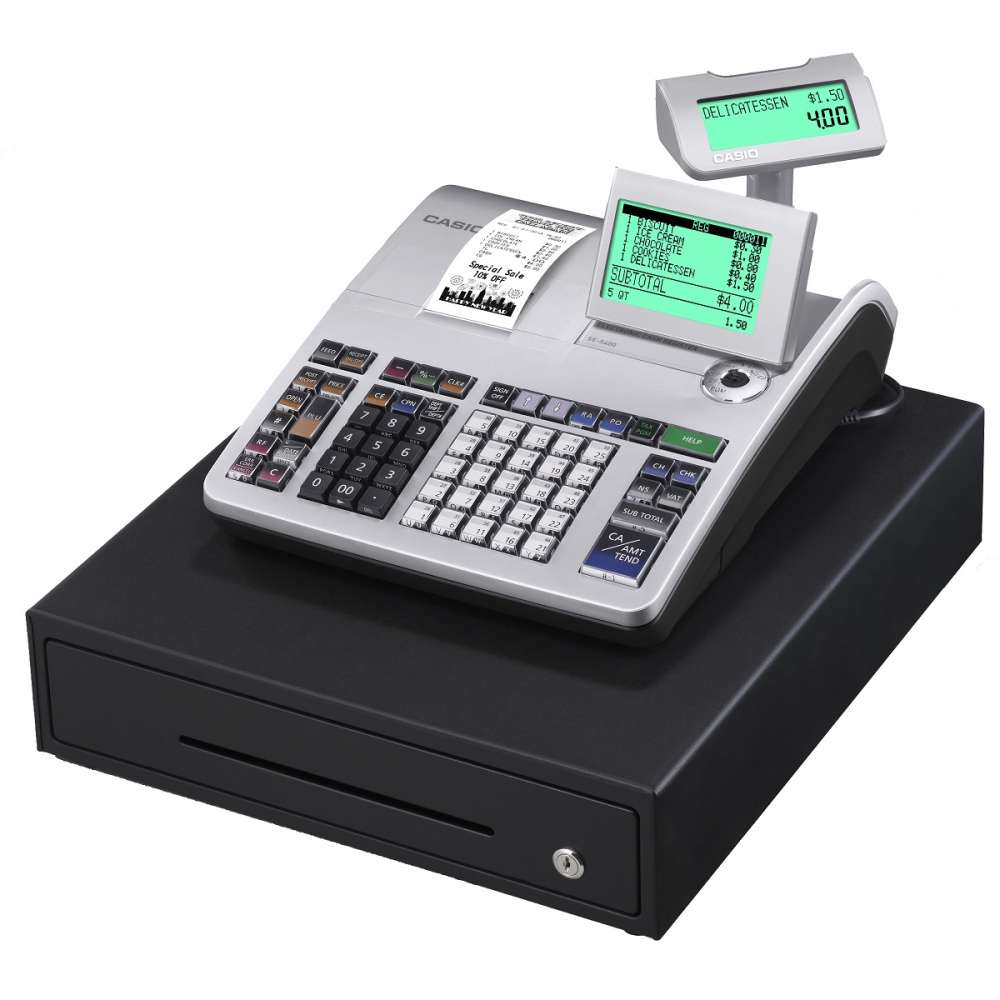 View Casio Ses400 Cash Register
