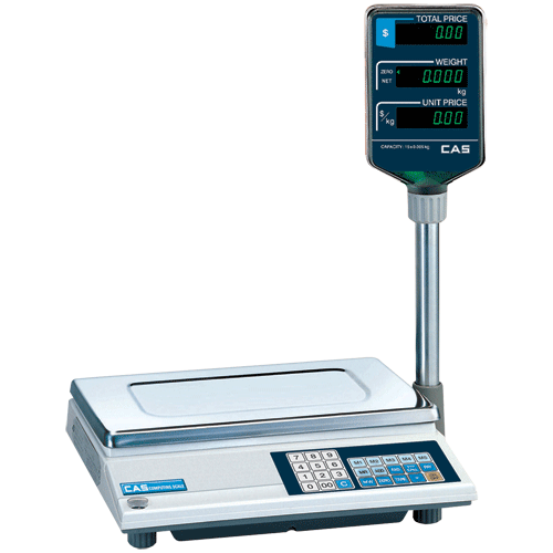 View Cas Ap1 Scale 15kg - Trade Approved