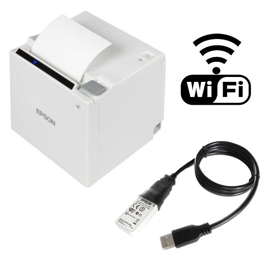 View Epson Tm-m30 Wifi Receipt Printer White