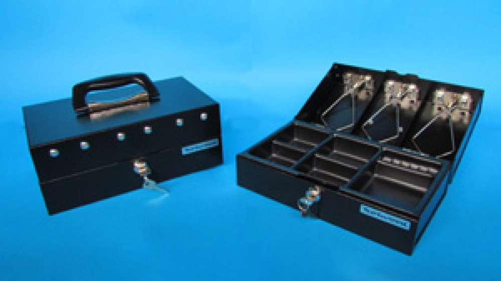 View Norwood Metal Cash Box Black