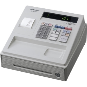 View Sharp Xea107 Cash Register White